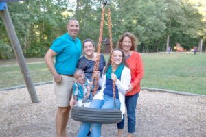 A Richmond family made possible through adoption at JFS Adoption. Jewish Family Services Richmond Virginia.
