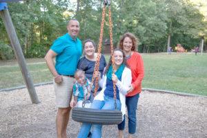 A Richmond family made possible through adoption at JFS Adoption. Jewish Family Services Richmond Virginia.