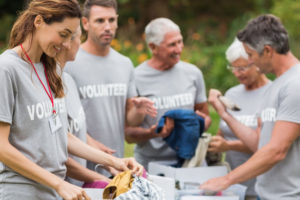 Volunteers getting involved with JFS Richmond
