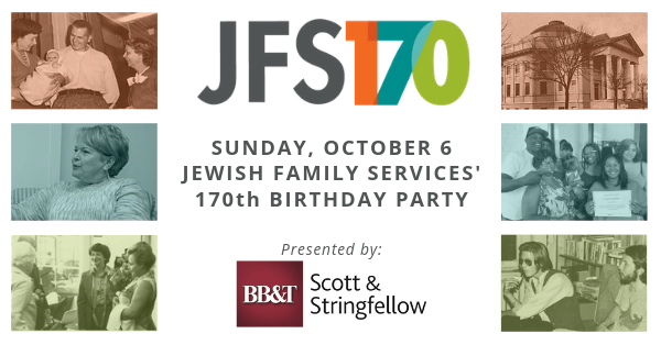 JFS 170th birthday invitation