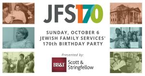 jfs 170th birthday party invite