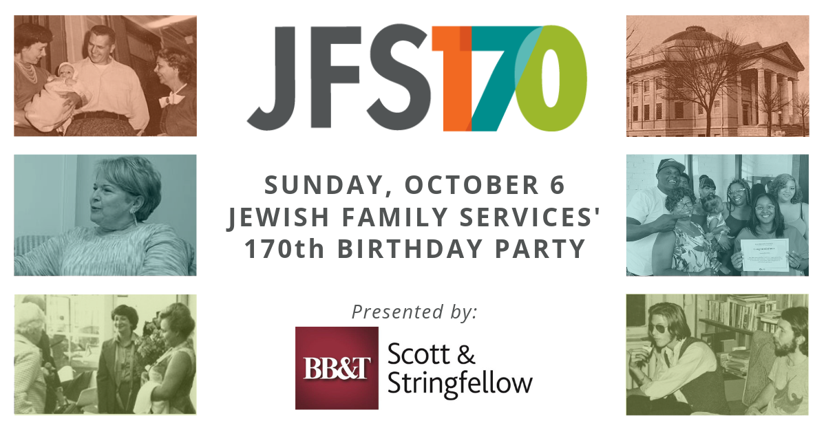 jfs 170th birthday party invite